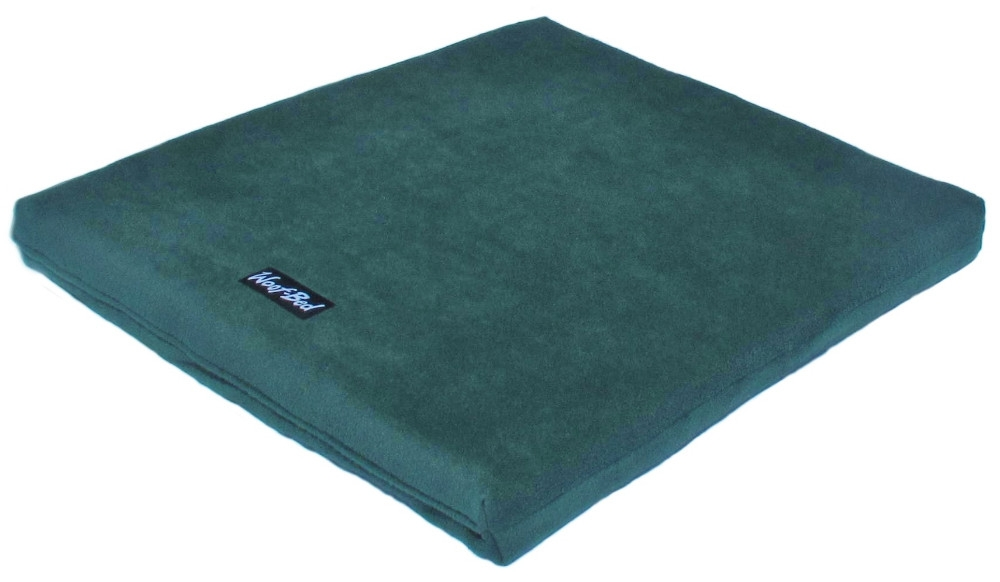 Woof~Bed - Memory Foam Dog Bed - Large - Green