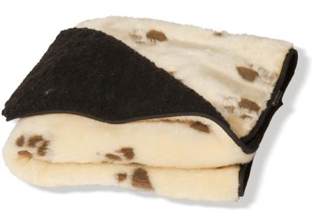 Fur Cream Throw - Dog Blanket Fleece