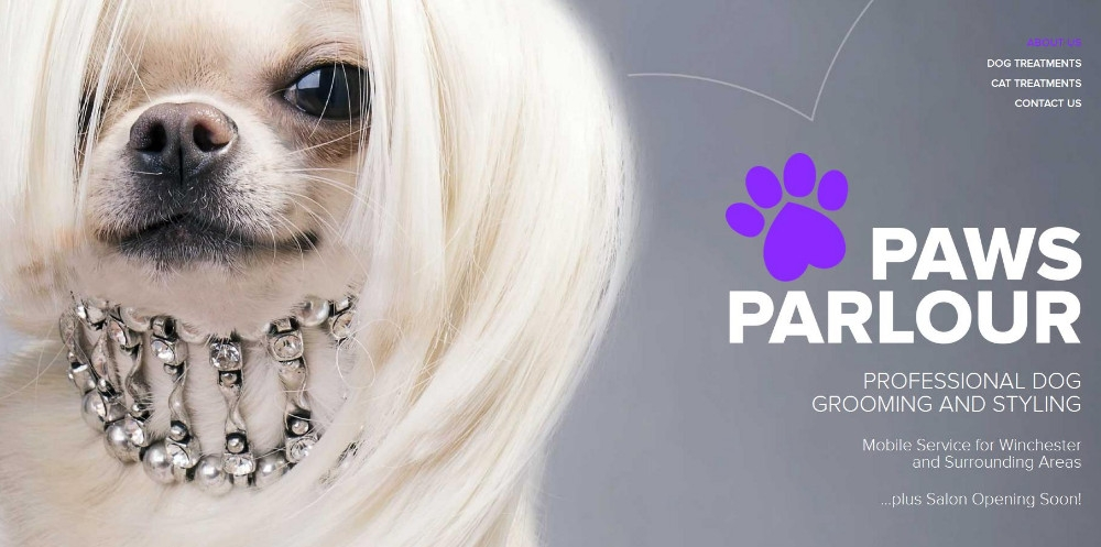 Paws Parlour Grooming Salon in Winchester