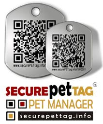 QR Pet Tag (Large) - Dogs