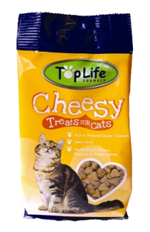 TopLife Formula Cheesy Treats for Cats