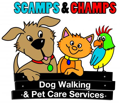 Scamps & Champs Dog Walking & Pet Care Services