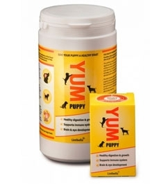 YUM puppy supplement by Lintbells