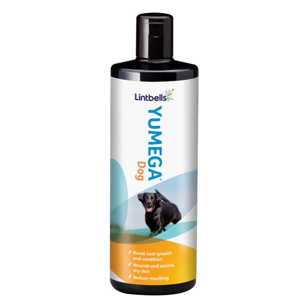 YuMEGA Dog supplement by Lintbells