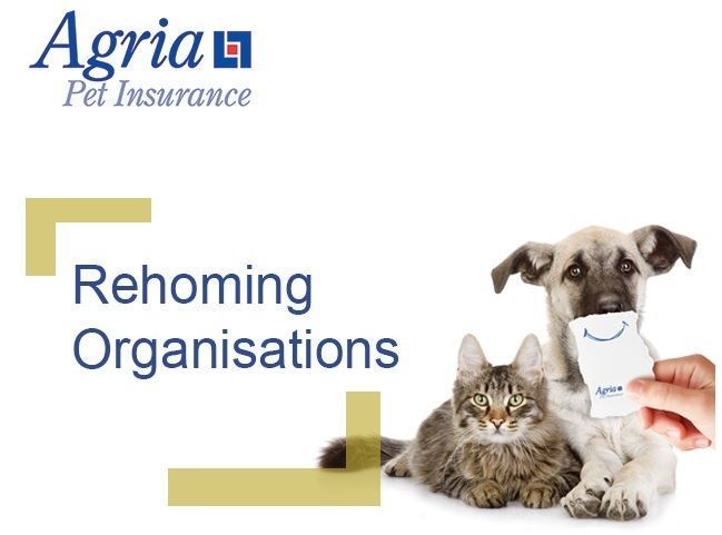 Agria Pet Insurance for rehoming centres and charities