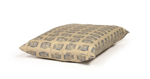 Woodland Owl Extra Thick Duvet Dog Bed - Med