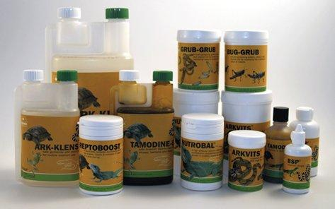 Vitamin supplements & probiotics for exotic pets