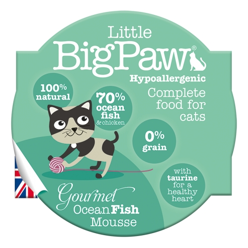 Little BigPaw Gourmet Atlantic Ocean Fish Mousse