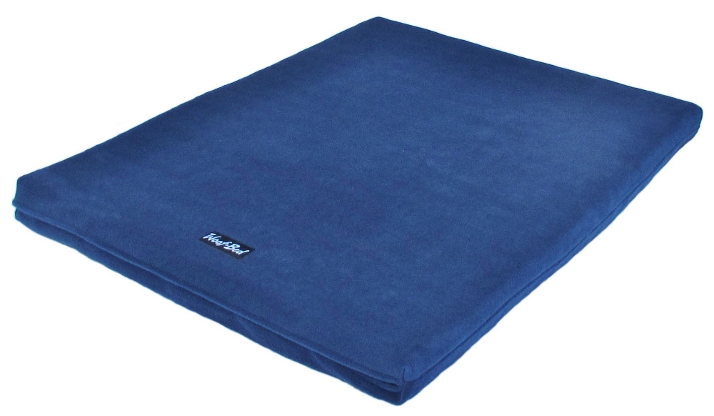 Woof~Bed - Memory Foam Dog Bed - Medium - Blue