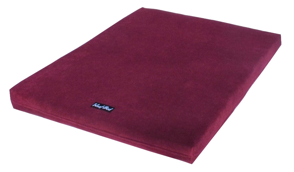 Woof~Bed - Memory Foam Dog Bed - Medium - Red