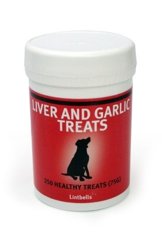 Liver and Garlic Treats for dogs by Lintbells
