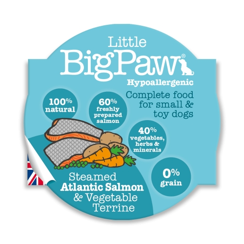 Little BigPaw Small & Toy Breed Food - Salmon 85g