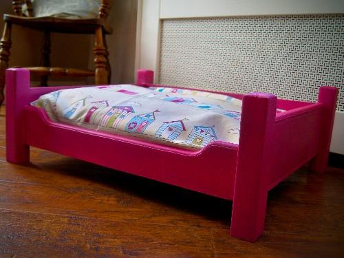Deluxe Wooden Dog Bed The Susie
