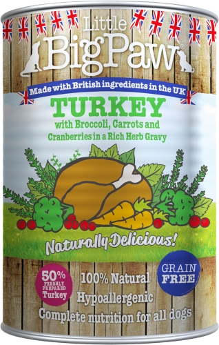 Little BigPaw Naturally Delicious Turkey