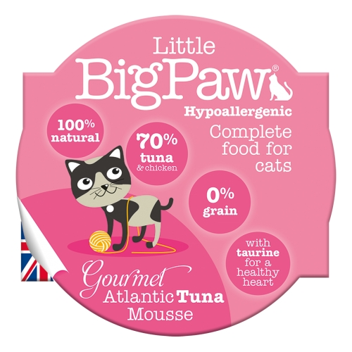Little BigPaw Gourmet Atlantic Tuna Mousse - 85g