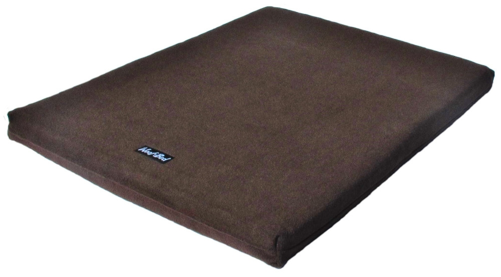 Woof~Bed - Memory Foam Dog Bed - Large - Brown