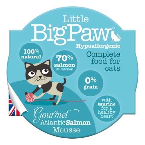 Little BigPaw Gourmet Atlantic Salmon Mousse -85g