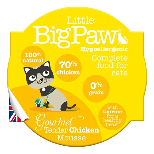 Little BigPaw Gourmet Tender Chicken Mousse - 85g
